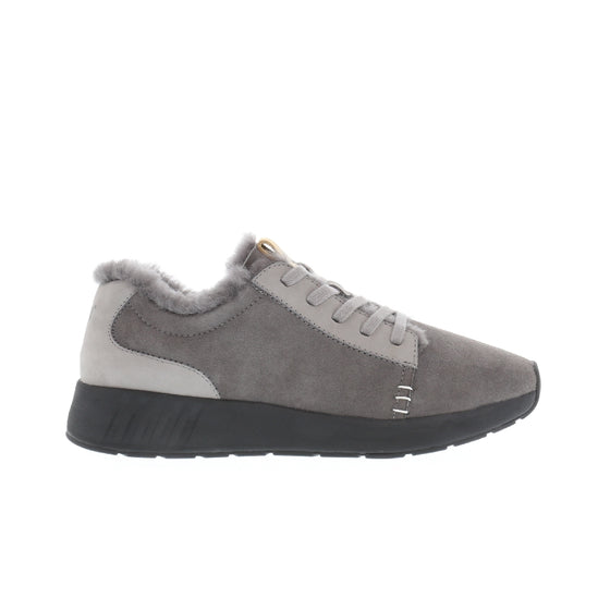 Mr. SNUG Low, Dark Grey on Black Sole