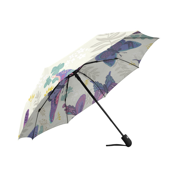Abstract Butterfly Design Umbrella