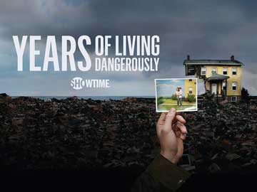 Years of Living Dangerously DVD series