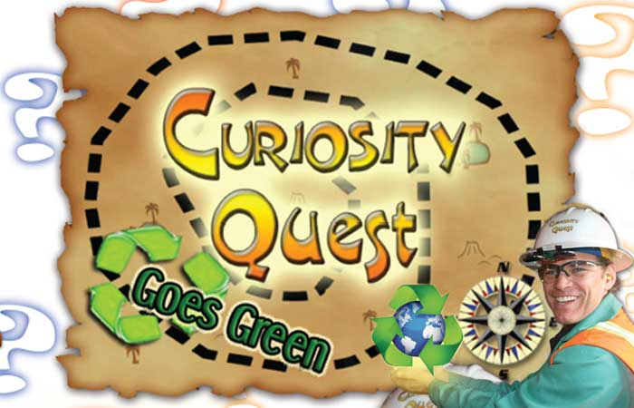 CURIOSITY QUEST GOES GREEN: Wood Recycling