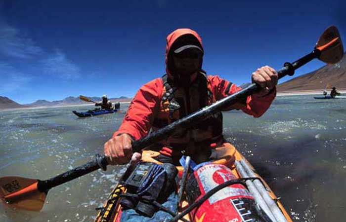 INTO THE ALTIPLANO # 1: Sea Kayaking Argentina, Bolivia & Chile