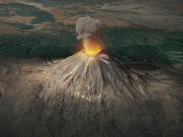 The Earth's Furies: Volcanic Eruptions