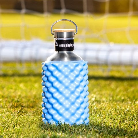 Even Playing Field Reuben Blue Roller Drink Bottle