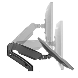 DQ Monitor Arm Aris Double Black