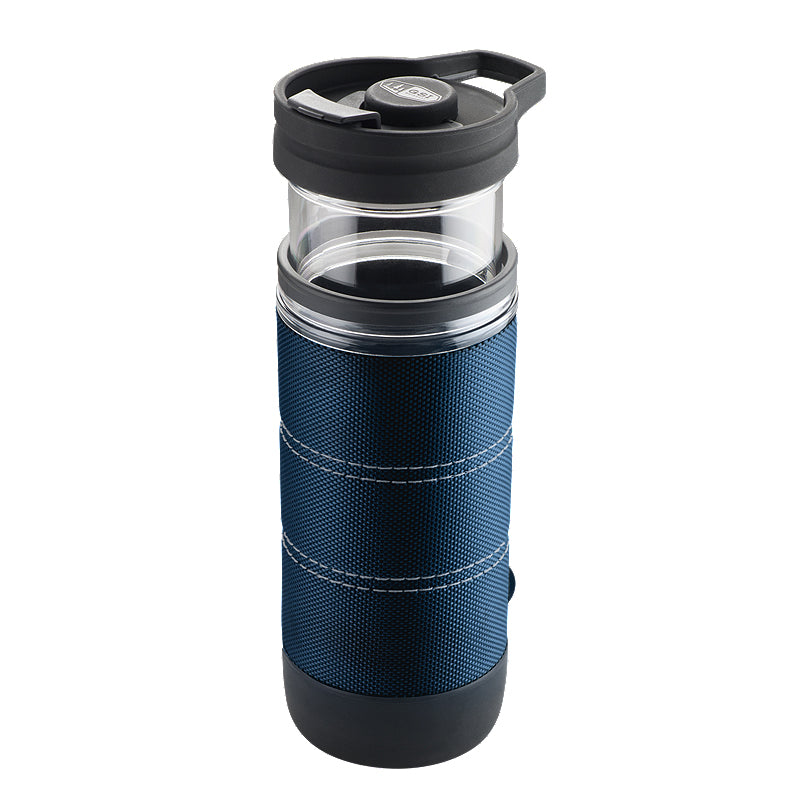 Prensa francesa portable GSI 400 ml Azul