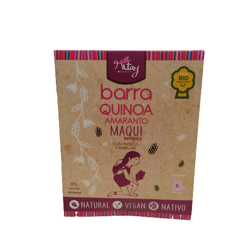 Pack 6 Barritas Maqui berries