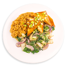 Load image into Gallery viewer, ASIAN TOFU & FARRO
