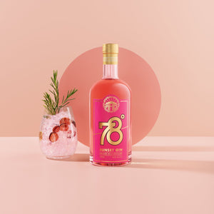 Adelaide Hill Distillery 78˚ Degrees Sunset Gin | 6 x 700ml Bottle Carton | 42% ABV