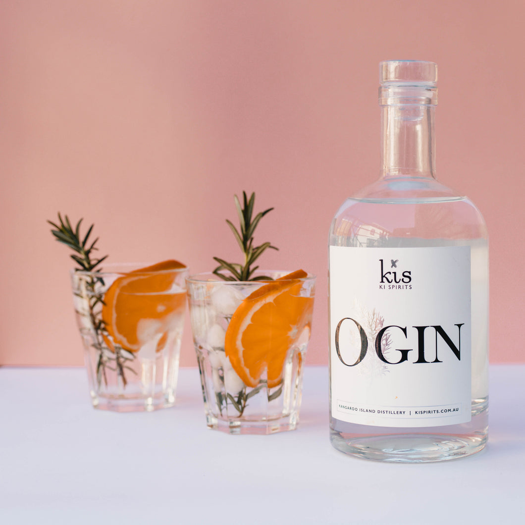KIS O'Gin | 2 x 700ml Bottle Carton | 43.5% ABV