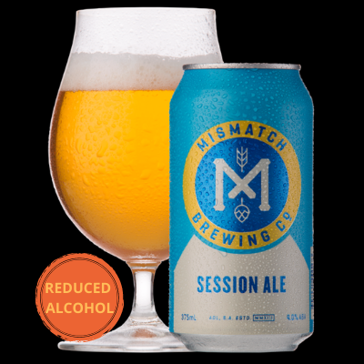 Mismatch Brewing Session Ale | 24 x 375ml Can Carton | 4.0% ABV