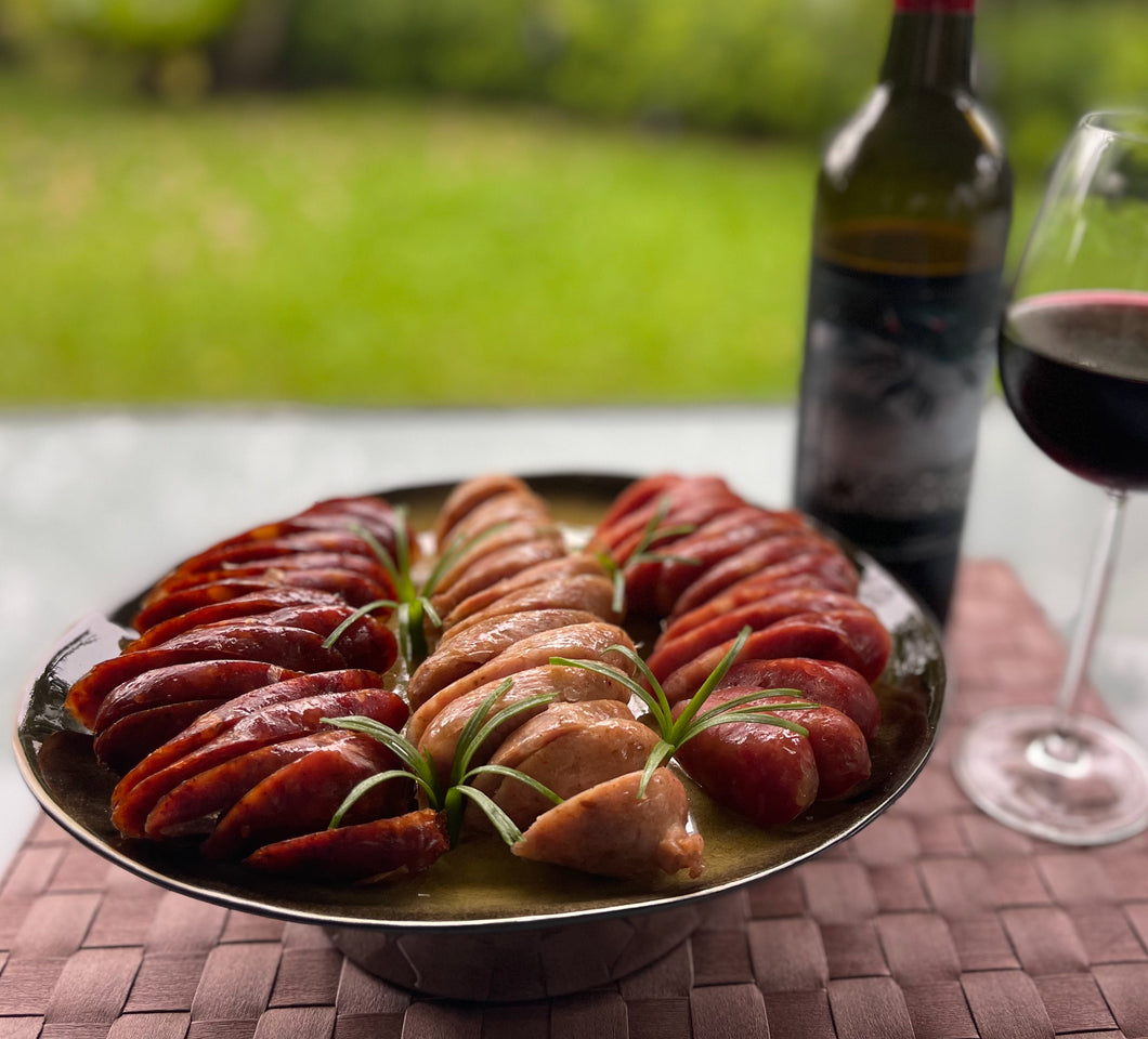 Special Lunar New Year Bundle: Australian Organic Wine & Singapore Handmade Sausages