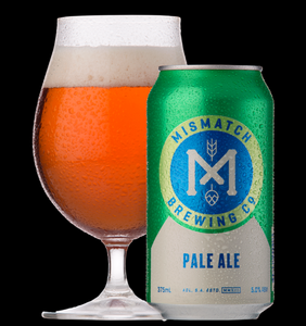NEW YEAR SPECIAL: Mismatch Brewing Pale Ale | 24 x 375ml Can Carton | 5.0% ABV