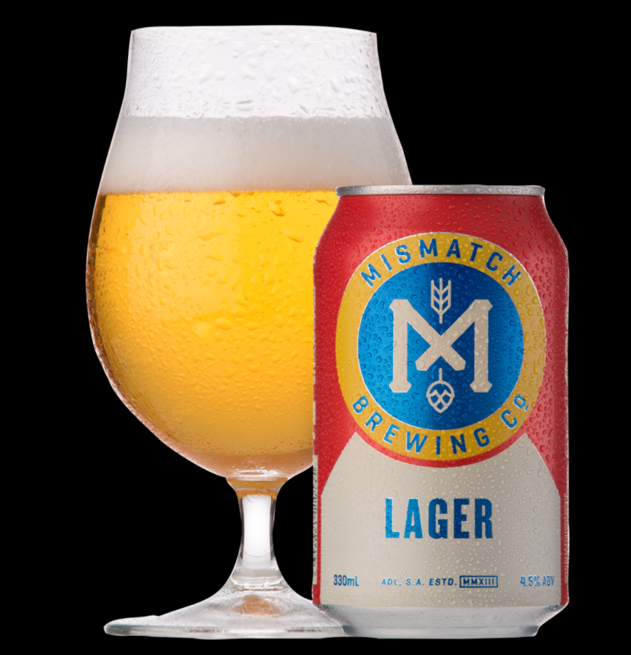 Mismatch Brewing Lager | 24 x 375ml Can Carton | 4.5% ABV