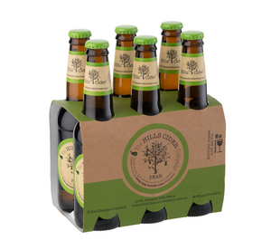 Hills Cider Pear | 24 x 330ml Bottle Carton | 5.0% ABV