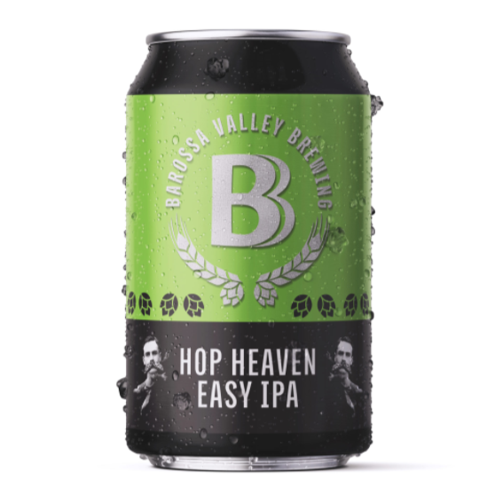 BEER SPECIAL: Barossa Valley Brewing Hop Heaven - IPA | 24 x 375ml Can Carton | 4.1% ABV