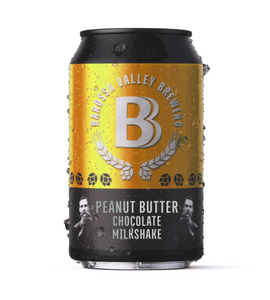Barossa Valley Brewing Chocolate Peanut Butter Milkshake | 24 x 375ml Can Carton | 4.1% ABV