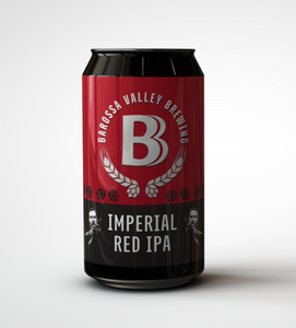 Barossa Valley Brewing Imperial Red IPA | 16 x 440ml Bottle Carton | 8.0% ABV