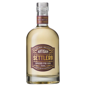 Settlers Spiced Fig Gin | 6 x 700ml Bottle Carton | 43% ABV