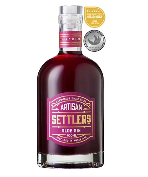 Settlers Sloe Gin | 6 x 700ml Bottle Carton | 43% ABV