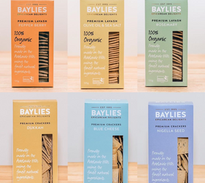 Baylies Epicurean Delights | Lavash & Grissini 135gm-150gm
