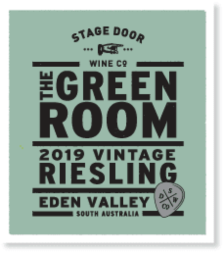 Stage Door Wine Co 2019 Eden Valley Riesling | Sustainable Wine | 6 x 750ml Bottles