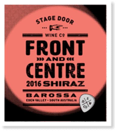 Stage Door Wine Co 2016 Front & Centre Shiraz | Sustainable Wine | 6 x 750ml Bottles