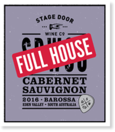 Stage Door Wine Co Full House 2016 Cabernet Sauvignon | Sustainable Wine | 6 x 750ml Bottles