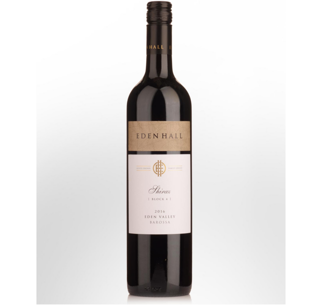 Eden Hall Block 4 2016 Shiraz | Sustainable Grapes | 6 x 750ml Bottles