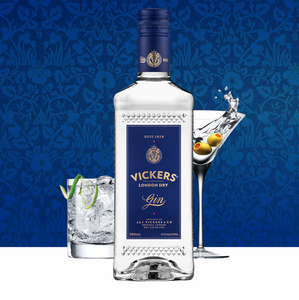CHRISTMAS SPECIAL: Vickers London Dry Gin | 2 x 700ml Bottles