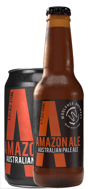 Wilkadene Woolshed Amazon Extra Pale Ale | 24 x 375ml Can Carton | 5.2% ABV
