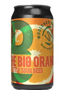 NEW YEAR SPECIAL: Wilkadene Woolshed The Big Orange - Sour | 24 x 375ml Can Carton | 4.1% ABV