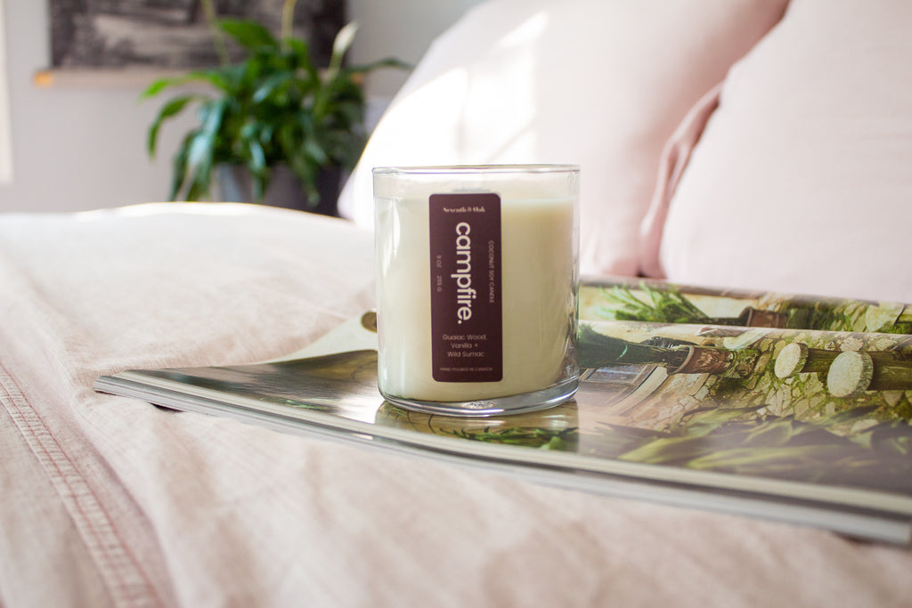 The best cozy candles for fall - seventh and oak