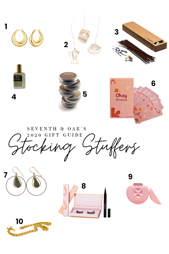 Seventh and Oak Gift Guide - Stocking Stuffers