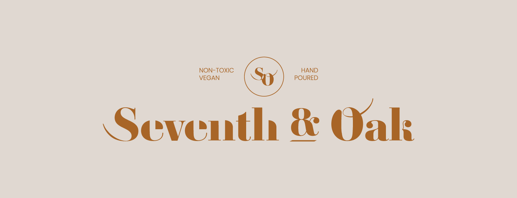 Seventh and Oak hand poured candles
