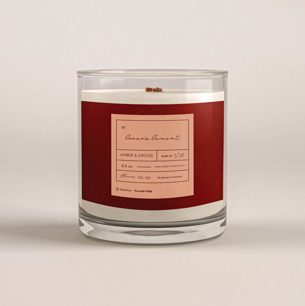 Lovers Lament Candle- Seventh and Oak x Fleure