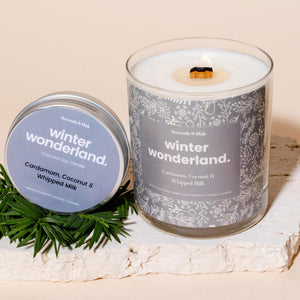 Open image in slideshow, Winter Wonderland candle