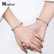 Noter 2pcs/Set Paired Bracelets Adjustable Braided Thread Braslet Lover Forever For Couple Brazalete Valentine Braclet Pulseira