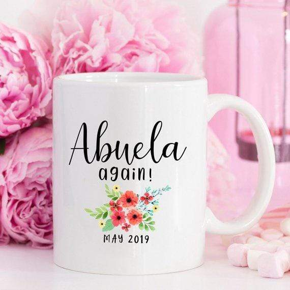 Kitchen Spanish Grandma Mug New Abuela Gift for Abuela
