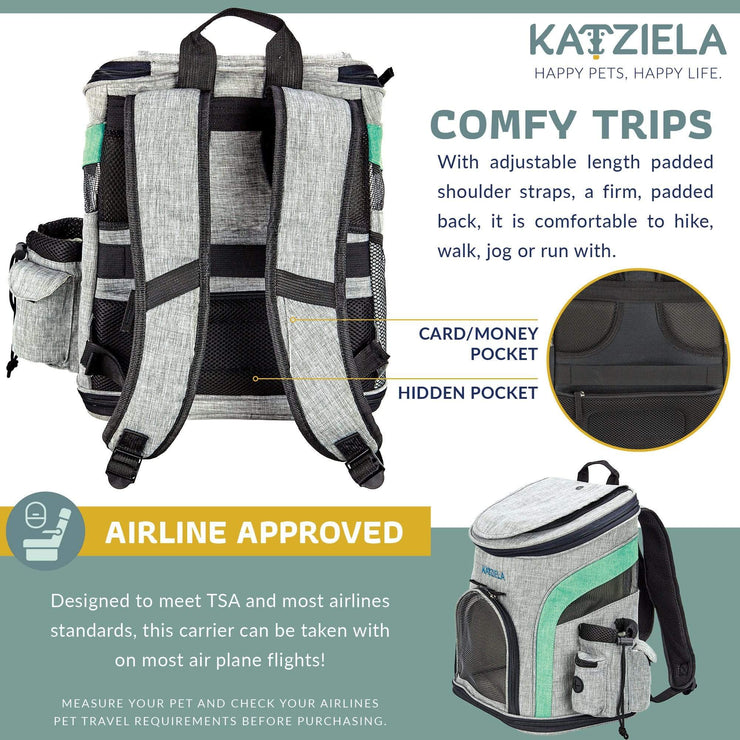 Pets Airline Approved Backpack for Pets