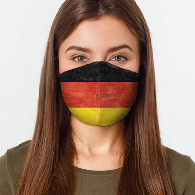 Healthcare German Flag Face Cover