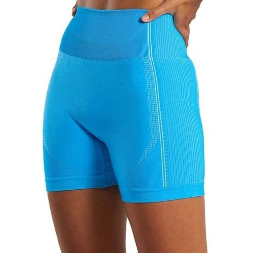 Women's Clothing L / blue / United States Seamless Yoga Shorts/Women High Waist Fitness Workout Yoga Short Pants