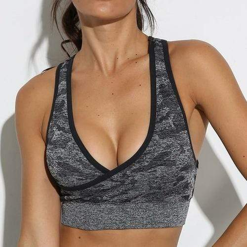 Women's Clothing L / Camoblack bra Camouflage Camo Yoga Set Sports/Gym Fitness