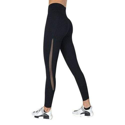 Women's Clothing L / style 1 black Women Workout Leggings With Pocket High Waist