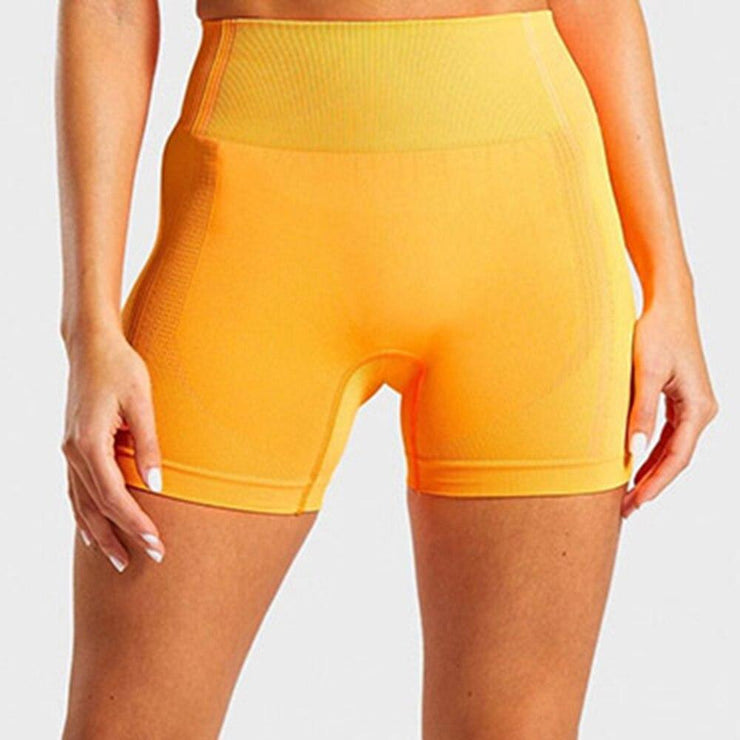 Women's Clothing Seamless Yoga Shorts/Women High Waist Fitness Workout Yoga Short Pants