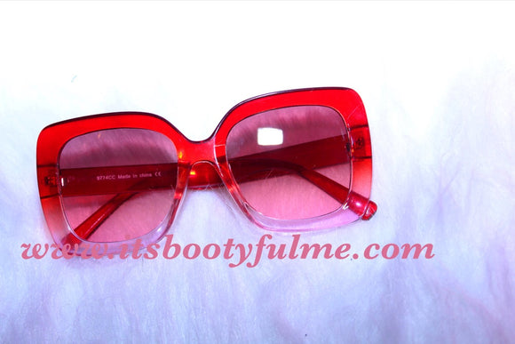 Red Ombre Sunnies