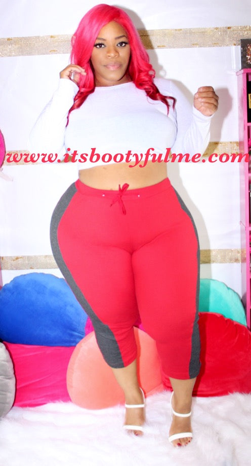 Red Thermal Lounge Pants