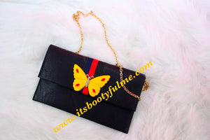 Butterfly Clutch Purse