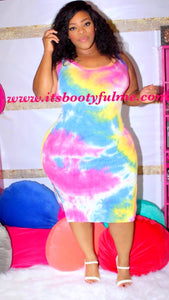 Cotton Candy Vibes Dress