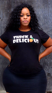 Thick&Delicious Peach Tee