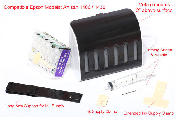 Ciss Kit Epson Artisan 1430 Colorful Ink Solutions